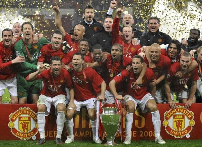 Man United 2008 CL