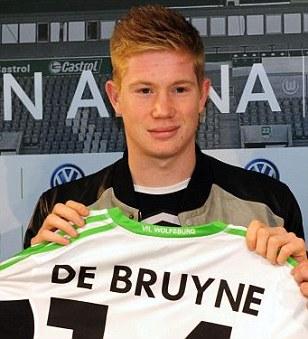 De Bruyne Wolfsburg